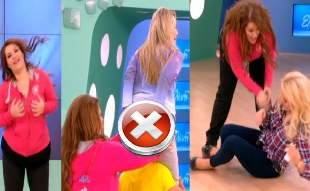 5921b207724 VIDEO   Η ...ακατάλληλη γυμναστική της Ζαρίφη! Στο πάτωμα βρέθηκε η ...