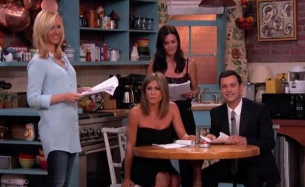 VIDEO | Ο Jimmy Kimmel ένωσε ξανά τα «Φιλαράκια»