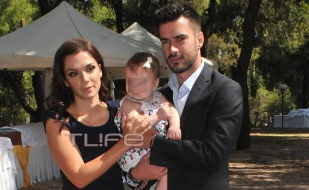 Τσιμιτσέλης - Λασκαράκη: Βάφτισαν το μωράκι τους