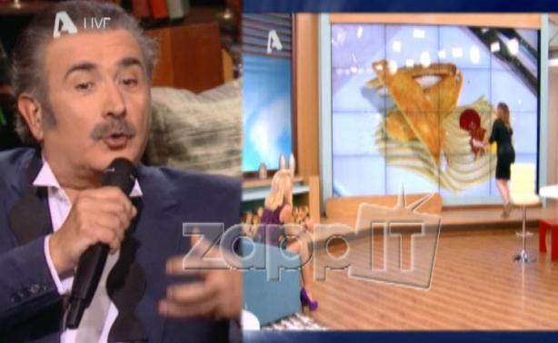 VIDEO | Λαζόπουλος για Αλαμουντίν: «Δεν της ήρθε εμετός με το πρώτο πιάτο»