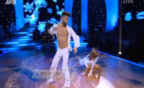 VIDEO | DWTS: Το ατύχημα της Ειρήνης Παπαδοπούλου την ώρα της χορογραφίας