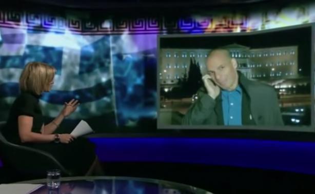 VIDEO   Χαμός στη συνέντευξη Βαρουφάκη στο BBC
