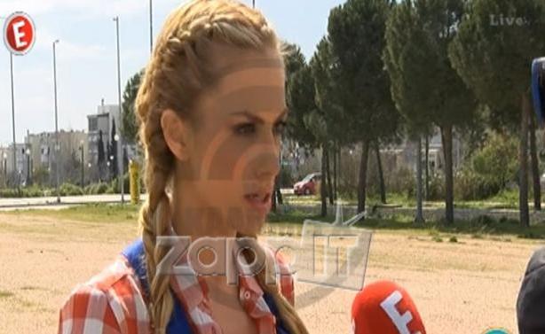 Ντορέττα Παπαδημητρίου: «Δεν ξέρω τι κουβέντες είχαν γίνει πριν με τη Ζέτα για το I love my country»