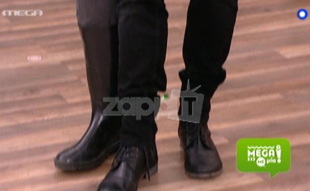VIDEO   Ο Γιώργος Λιανός πήγε με τρίτο πόδι στον Μάρκο Σεφερλή λόγω ...προσόντων!