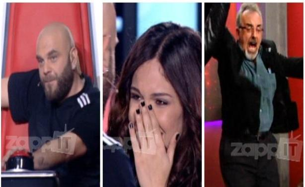 "VIDEO   The Voice: Ο Μιχάλης ""έκλεψε"" την Έλενα Παπαπαναγιώτου!"