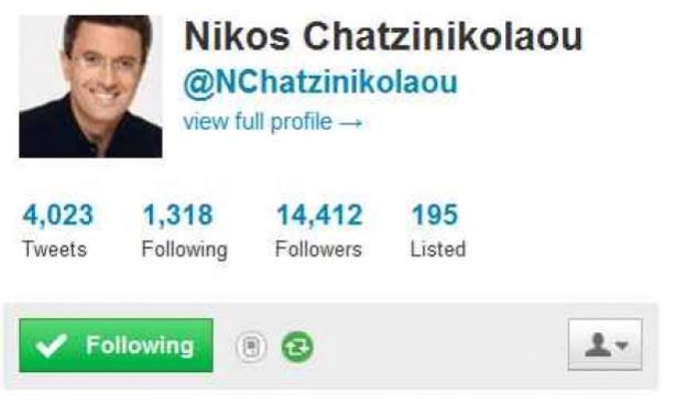 Η συνομιλία-μυστήριο του Νίκου Χατζηνικολάου στο Twitter, για το δελτίο του Alter