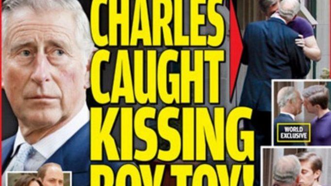 Χαμός στη Βρετανία – Φωτογραφία του πρίγκιπα Κάρολου να φιλάει στο στόμα έναν άντρα