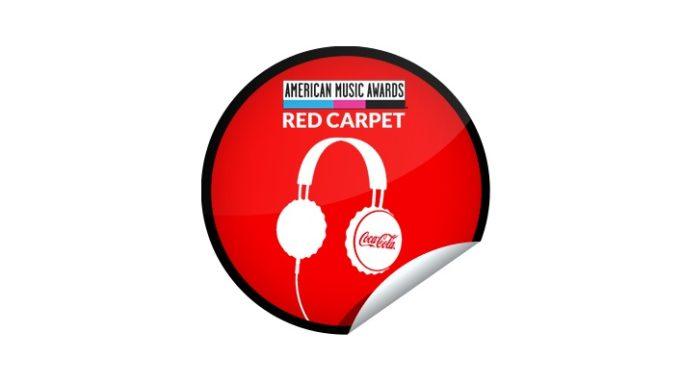 ή Coca Cola Red Carpet American Music Awards