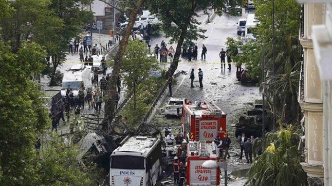 Έκρηξη Κωνσταντινούπολη
