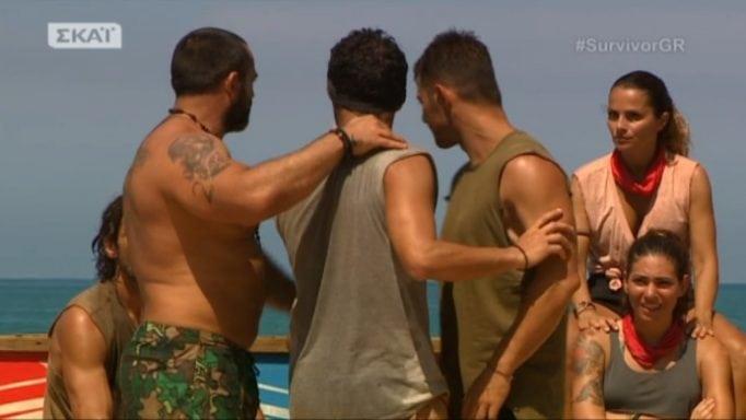 Survivor: Αρπάχτηκε ο Χρανιώτης με τον Σπαλιάρα στην παραλία!(video)