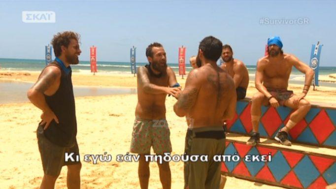 Survivor: Εκτός εαυτού ο Μπο με τους Μαχητές! «Είναι γελοίο αυτό, καραγκιόζηδες…»(video)