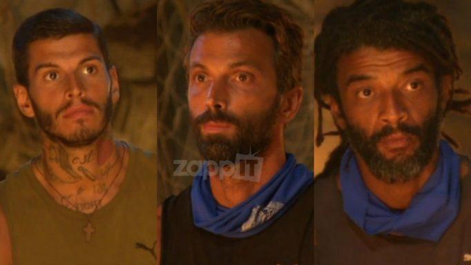 Survivor: Υποψήφιοι προς αποχώρηση Αγόρου, Θωμάς και Θεοδωρόπουλος!