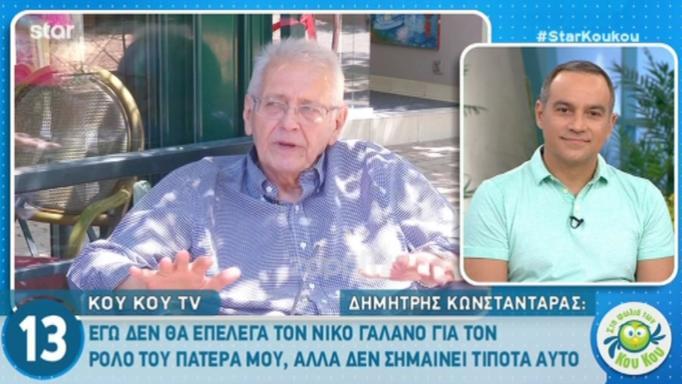 Δημήτρης Κωνσταντάρας