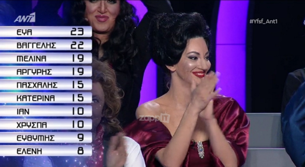 YFSF: Μεγάλη νικήτρια της βραδιάς η Εύα Τσάχρα!